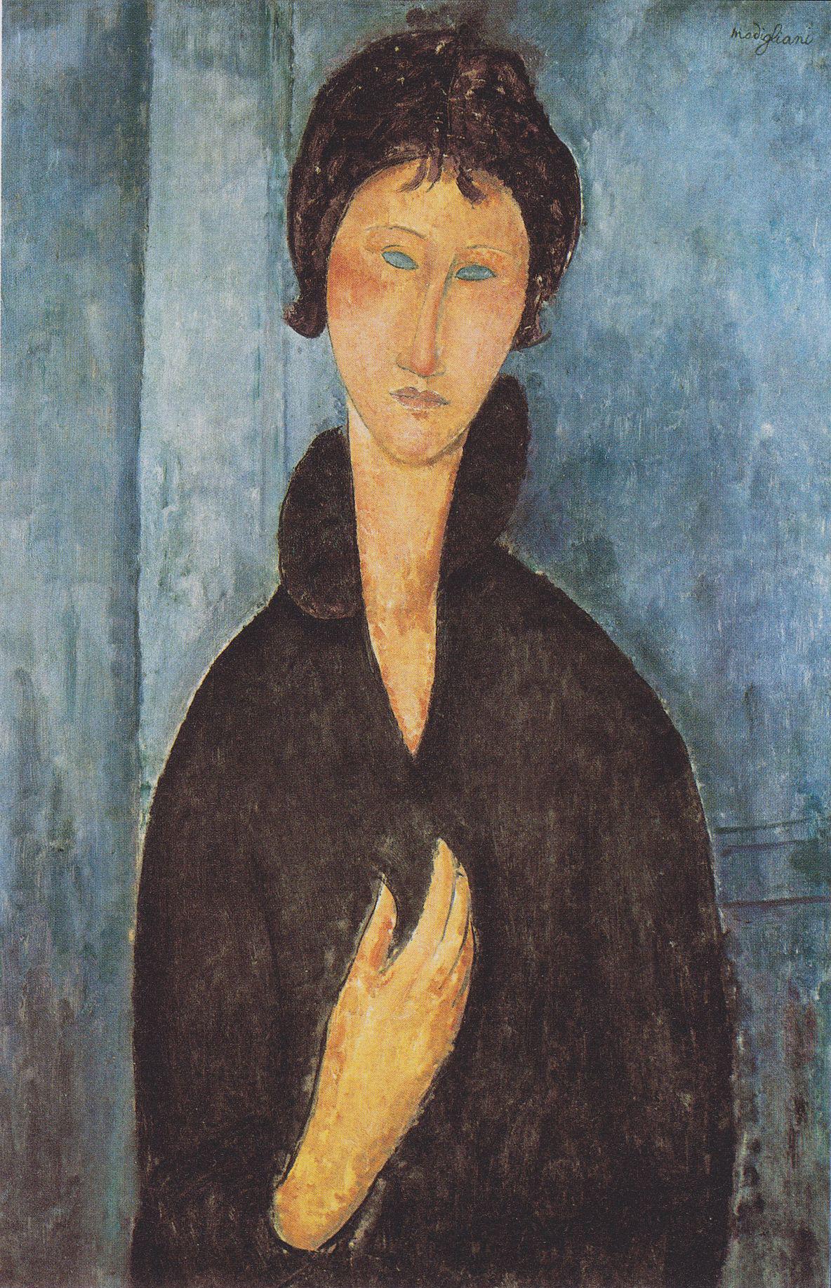 Modigliani_-_Die_Frau_mit_blauen_Augen